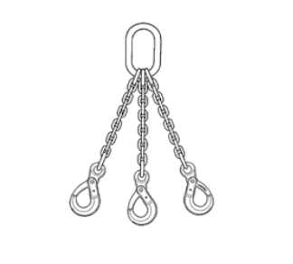 Campbell Cam-Alloy Chain Sling Triple Type TOSL