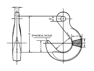 Campbell Cam-Alloy Foundry Hooks Diagram